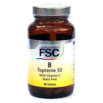 Vitamin B Supreme 50 with Vitamin C