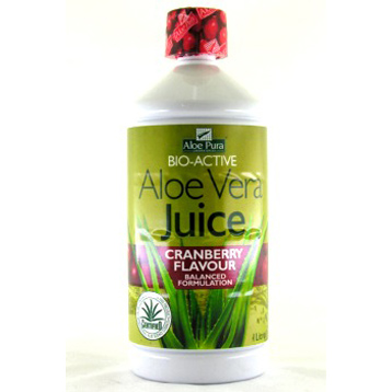 Aloe Vera Juice with Cranberry