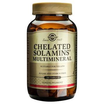 Chelated Solamins Multi Mineral