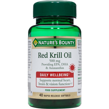 Nature's Bounty Red Krill Oil 500mg
