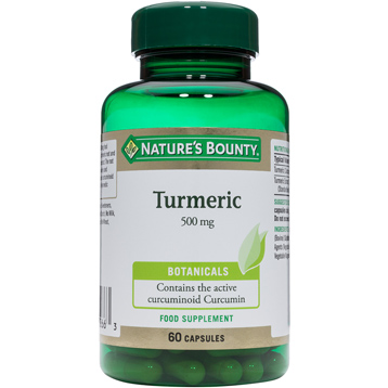 Nature's Bounty Turmeric 500mg