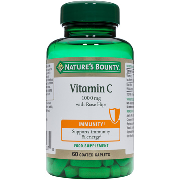 Nature's Bounty Vitamin C 1000mg with Rose Hips