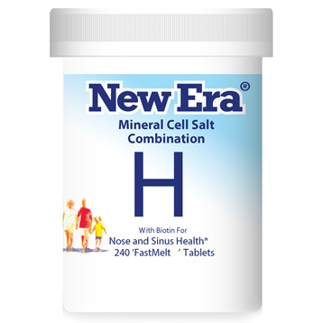 New Era Mineral Cell Salt Combination H