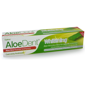 Aloe Dent Whitening with Fluoride 100ml