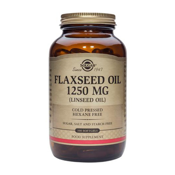 Cold Pressed Flaxseed Oil 1250mg