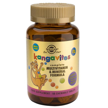 Kangavites Bouncin' Berry Multivitamin & Multiminerals
