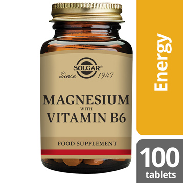 Magnesium plus Vitamin B6