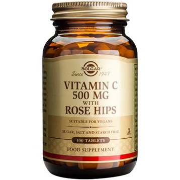 Vitamin C 500mg Rose Hips