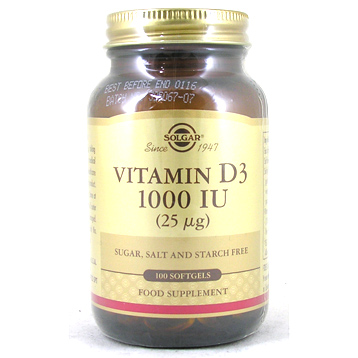 Vitamin D3 Softgels 1000iu